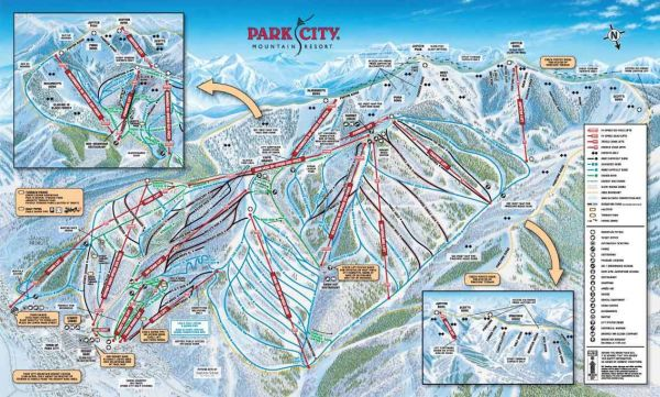 Park City Trail Map